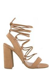 Dani Block Heel Strappy Sandals
