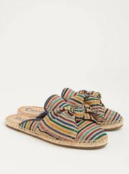 Circus by Sam Edelman Striped Bow Slip-On (Wide Width)