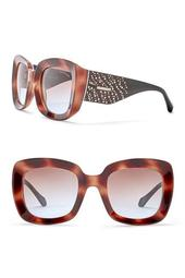 Women's 53mm Square Injected Sunglasses