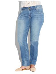 Plus Size Georgia Straight Leg Jean In Sarasota