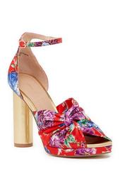 Flory Kimono Printed Platform Sandal