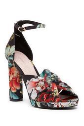 Flory Geisha Printed Platform Sandal