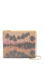 Multi Palms Crossbody Bag