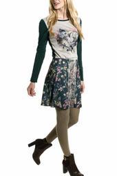 Japanese Silkscreen Skirt