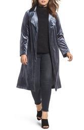 Blue Velvet Jacket