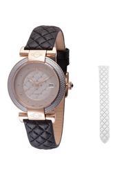 Women's Berletta Diamond Swiss Quartz Watch, 37mm