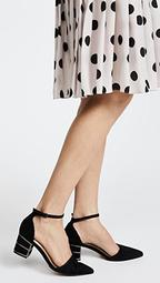 Bea Ankle Strap Pumps