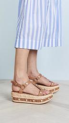 Be Raffia Flatform Sandals