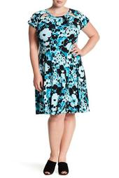 Springtime Floral Dress (Plus Size)