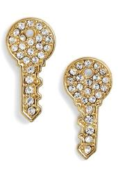 Key Stud Earrings