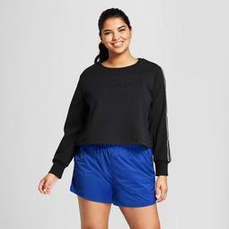 Hunter for Target Women's Plus Size Chain Trim Sweatshirt - Black