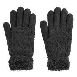 SONOMA Goods for Life™ Women's Solid Cozy Lined Cable-Knit Gloves