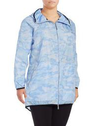 Plus Cloud-Print Packable Windbreaker