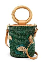 Bianca Straw Bucket Bag