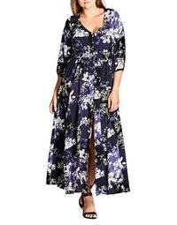 Plus Kiku Maxi Dress