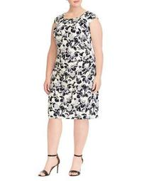 Plus Sleeveless Day Dress