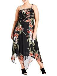 Plus Floridity Maxi Dress