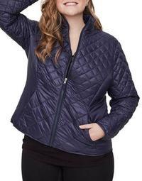 Plus Kirsi Long-Sleeve Short Jacket