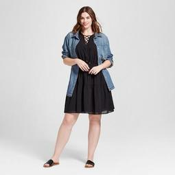 Universal Thread™ Women\'s Plus Size Smock Waist Dress - Universal
