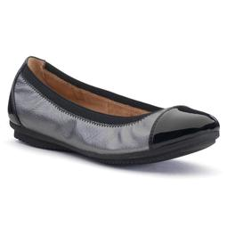 Ortholite Cap-Toe Ballet Flats