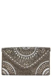 Alhambra Beaded Envelope Clutch