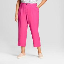 a new day women s plus size relaxed suit pants a new day pink