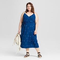 cea84780444 Universal Thread™ Women s Plus Size Floral Print Wrap Dress -