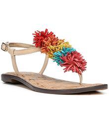 Sam Edelman Gates Tassle T-Strap Thong Sandals