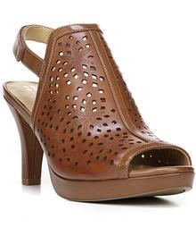 Naturalizer Paige Leather Lasercut Slingback Dress Sandal