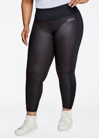 736564756f9 Ashley Stewart Bebe Sport Ruched Shine Legging | Shop Scenes
