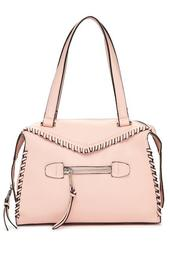 Aubry Whipstitch Satchel Bag