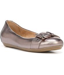 Naturalizer Bayberry Metallic Leather Flats