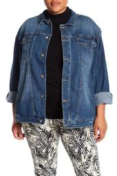 Deborah Denim Jacket (Plus Size)