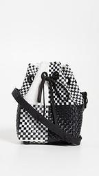 Mini Handwoven Bucket Bag