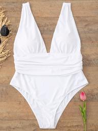 Plunge Plus Size Swimsuit