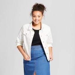 Universal Thread™ Women s Plus Size Denim Jacket - Universal 9ee90294f3