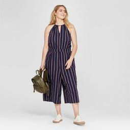 6c12884b2edb7 Universal Thread™ Women s Plus Size Striped Jumpsuit - Universal