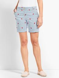 "7"" Girlfriend Chino Short -Crab"