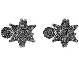 Atelier Swarovski Core Collection, Kalix Double Stud Pierced Earrings