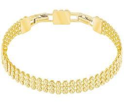 Fit Bracelet, Golden, Gold Plating