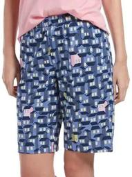 Plus Ticky Tack Houses Bermuda Sleep Shorts