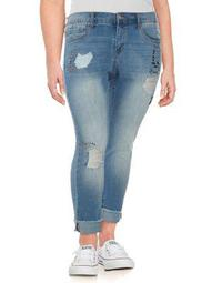 Plus Mika Best Friend Embellished Jeans