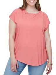 Plus 318 Manola Short-Sleeve Top