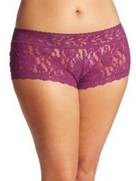 Plus Wide-Band Signature Lace Boyshorts