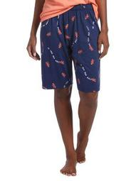 Plus Go Lobster Bermuda Sleep Shorts