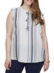 Plus Manina Sleeveless Top
