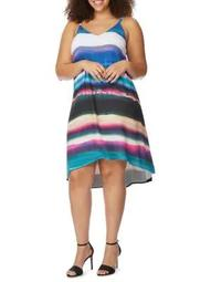Plus Cami Swing Printed Dress