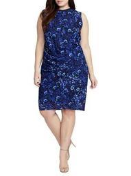 Plus Santorini Sleeveless Dress