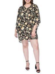 Plus Morna Ruffle-Sleeve Dress