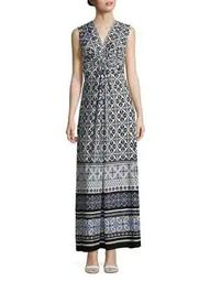 Plus Knotted Maxi Dress